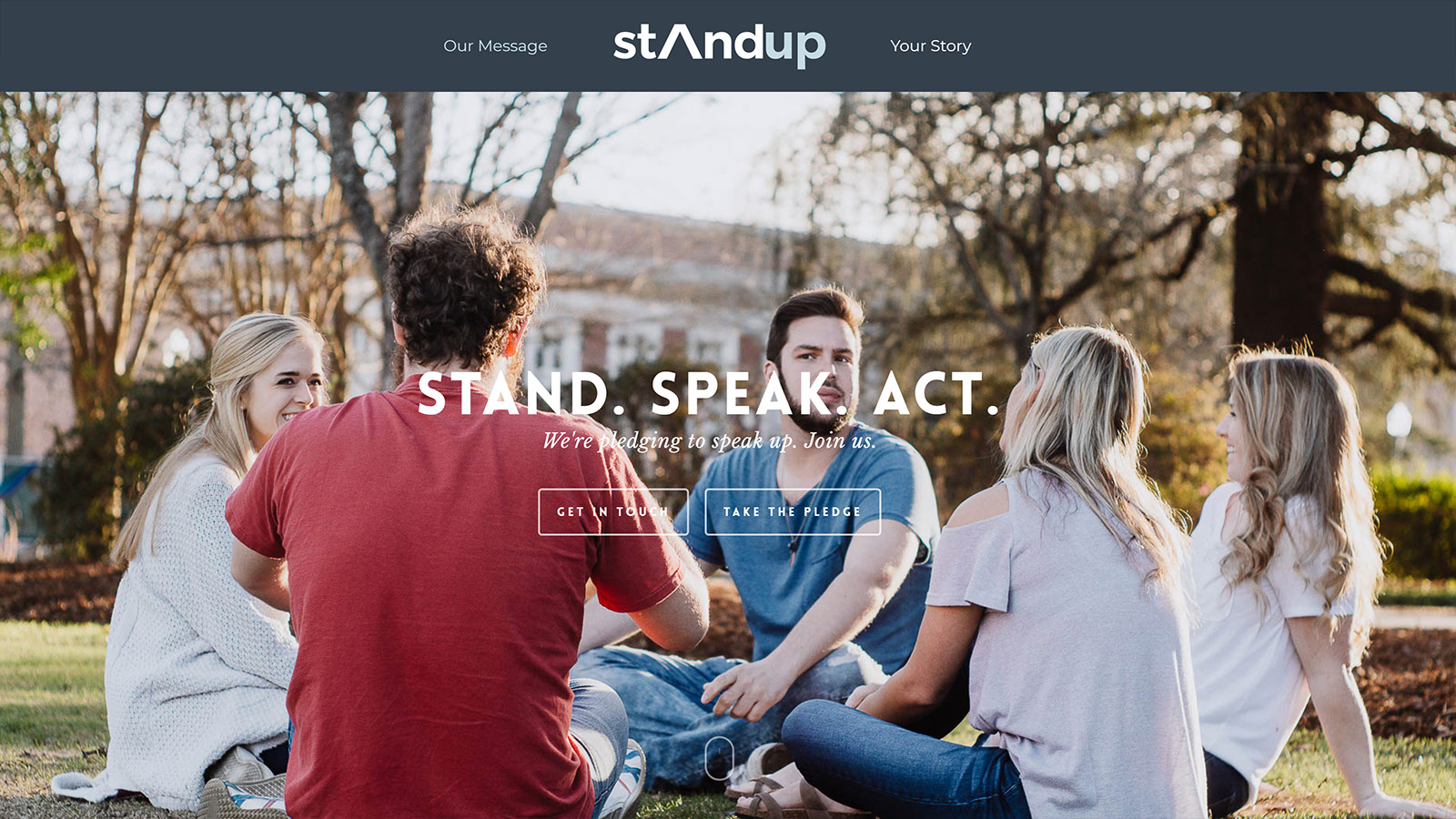 Stand Up Website